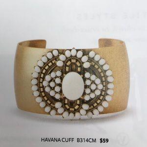 Havana Cuff (Stella & Dot) Stylist sample